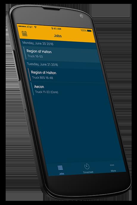 Mobile Timesheet App